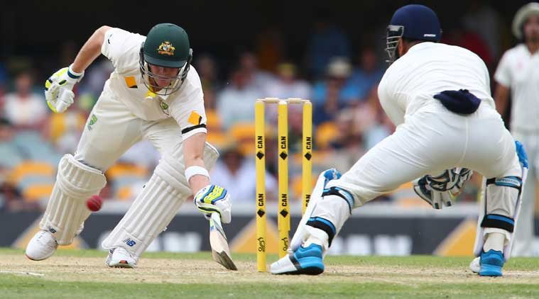 Steven Smith has posted four consecutive innings of fifty-plus for the first time -- the sequence being 97 vs Pakistan at Abu Dhabi and 162 & 52 at Adelaide and 65 at Brisbane -- all three unbeaten innings vs India. (Source: AP)