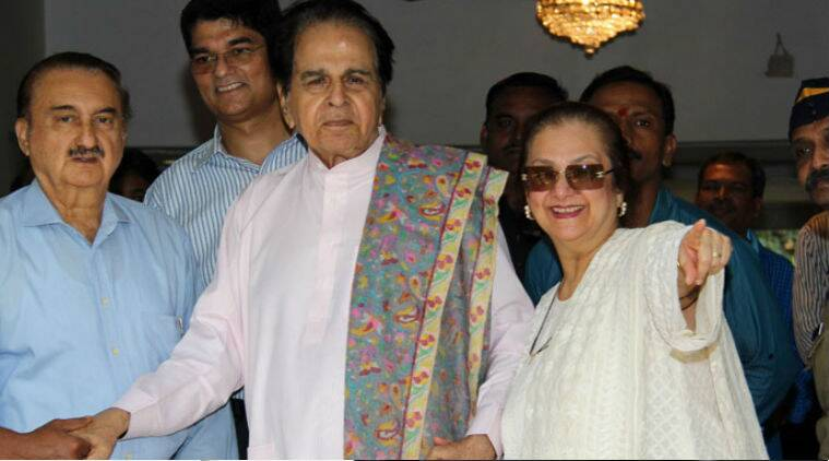 Dilip Kumar was discharged from hospital in Mumbai following a brief illness.