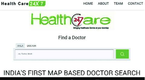 This app, available in Google Play Store, enables a person to locate the exact location of doctors and their specialties in his or her area.