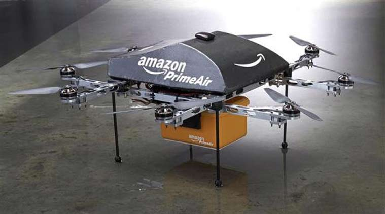 Amazon delivery drone (Source: Reuters photo)