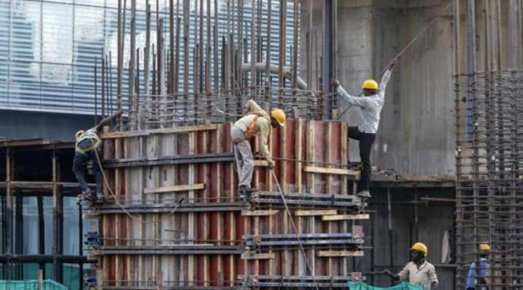 Mid-Year Economic Review pegs India's GDP growth at around 5.5 per cent in the fiscal year to March 2015. Reuters
