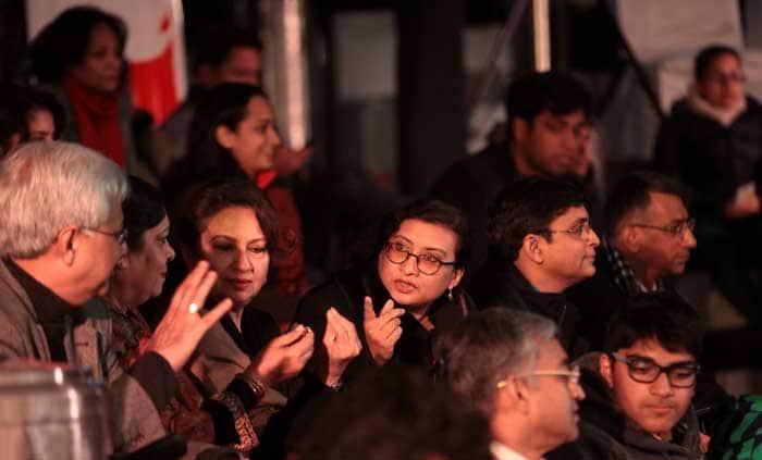 Express adda, Sharmila tagore
