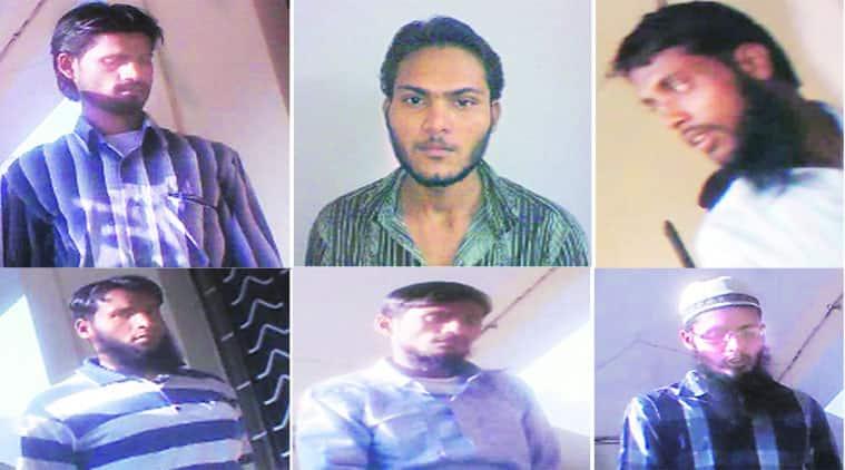 (Clockwise from top): Aizazuddin, Amjad, Aslam Ayub, Abu Faisal, Zakir hussain and Mehboob alias Guddu
