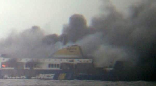 Italian ferry fire, Norman Atlantic ferry, Italian vessel fire