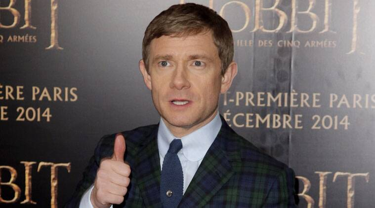 Martin Freeman prefers to be completely nude in intimate scenes. (Source: AP)