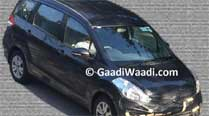 Maruti Ertiga face-lift India launch in 2015, Spied