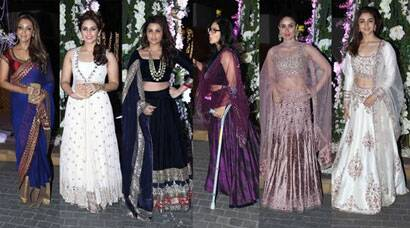 PHOTOS: Kareena, Gauri Khan, Kajol get ready for a celeb wedding