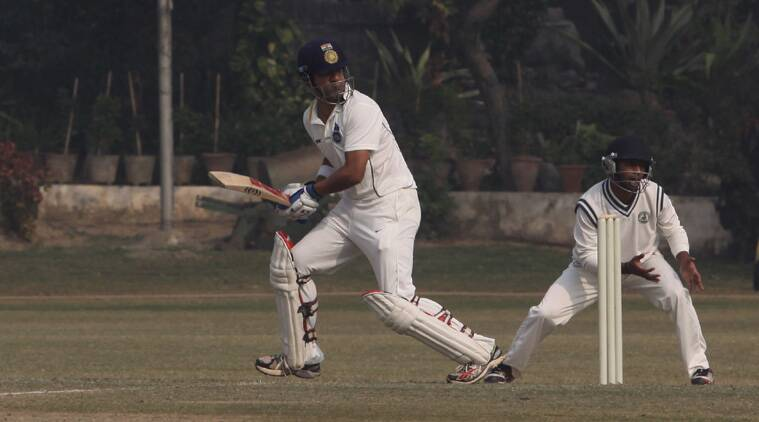 Gautam Gambhir led from the front and remained unbeaten on 123 (Source: Express File)