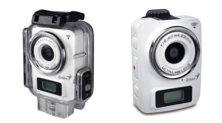 Genius launches GoPro like WiFi camera at Rs13,000