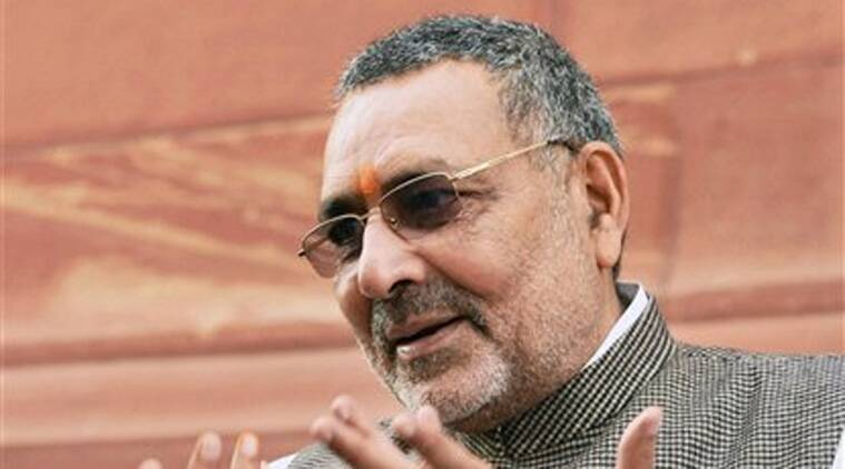 giriraj singh, union minister, nationalism, indian express