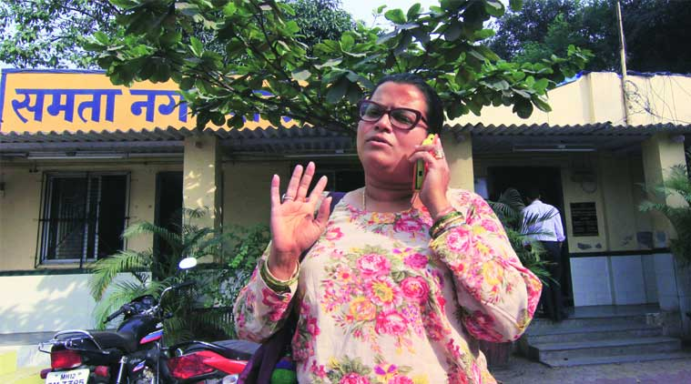 Hair-dresser Serina Dixeira has complained to police that her ID card was seized by union members  (Source: Express photo by Amit Chakravarty)
