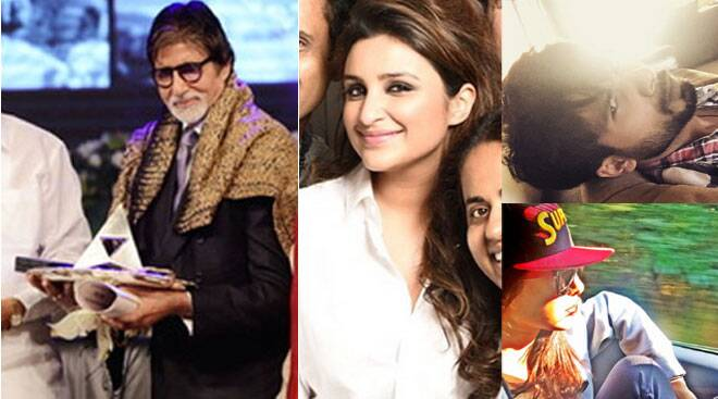 Festive Season: Awards for Amitabh Bachchan, Vacation for Priyanka, Parineeti, Shahid