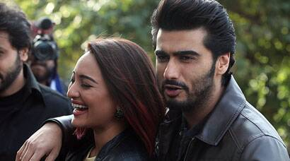 Arjun Kapoor, Sonakshi Sinha and their 'Tevar' in Chandigarh