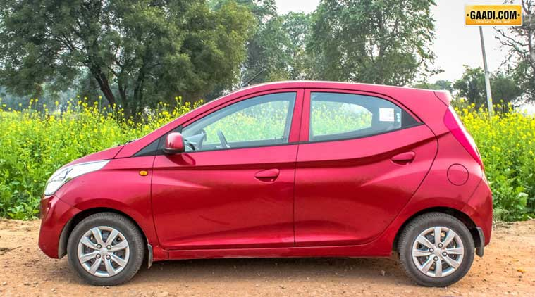 Hyundai Eon Face Lift Spied India Launch In 2015 Auto Travel