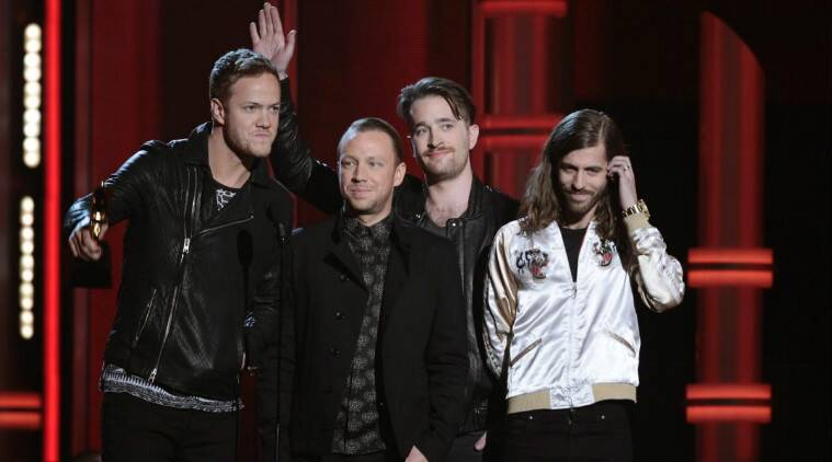 The Las Vegas rock band announced that they would release their sophomore effort, 'Smoke + Mirrors'. (Source: Reuters)