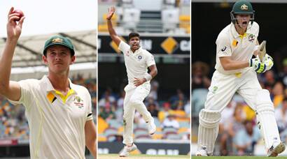 PHOTOS: Australia fight after India collapse