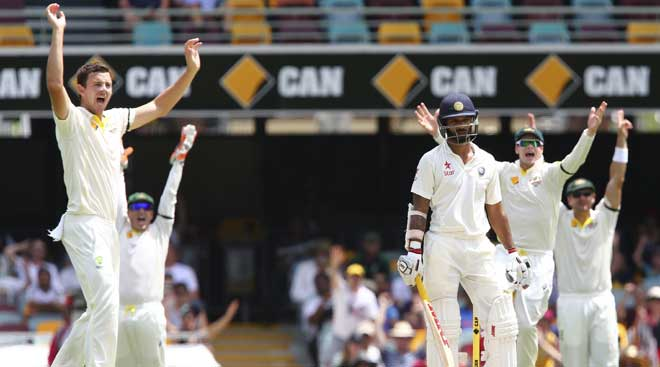 India vs Australia, 2nd Test: India collapse at the Gabba