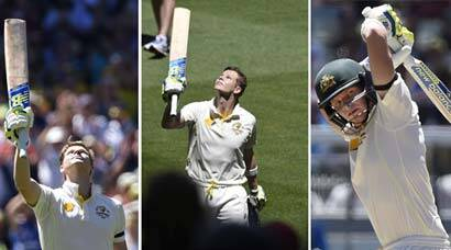 PHOTOS: Smith's 192 takes Australia to 530