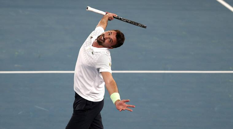 At 43, Ivanisevic, did not put a foot wrong against his equally famed opponent, to win the set 6-1. (Source: Reuters)