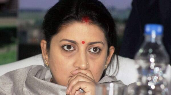 Irani at Parliament on Monday; the circular issued by the HRD Ministry.