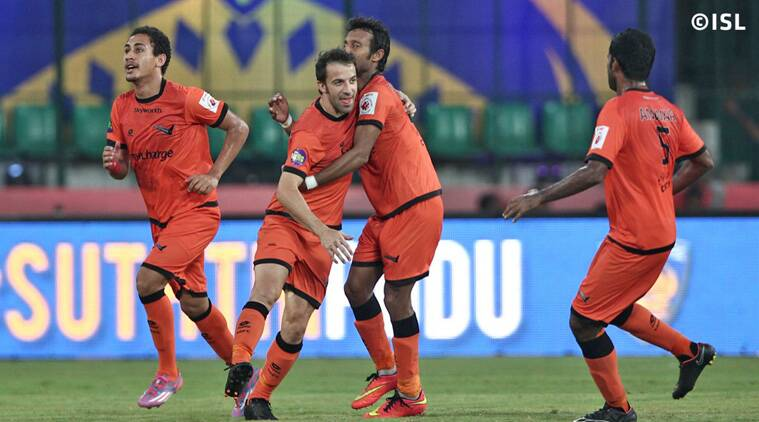 Delhi hit back in the second session through Del Piero and Hans Mulder. (Source: ISL)