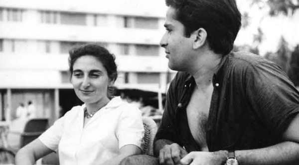 Jhabvala with Shashi Kapoor in Mumbai
