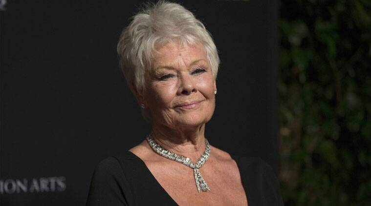 Judi Dench is currently dating David Mills, who she says 'stalked' her before they started dating. (Source: Reuters)