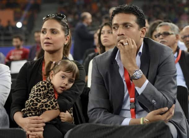 When Aamir Khan's son Azad, Lara Dutta's daughter Saira met Roger Federer