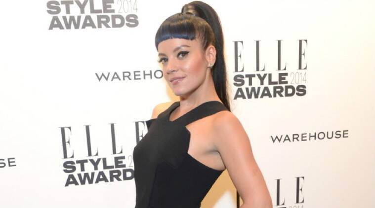 Lily Allen is yet to address the criticism. (Source: AP)