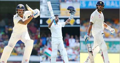 Murali Vijay stamps his authority over Australian bowlers