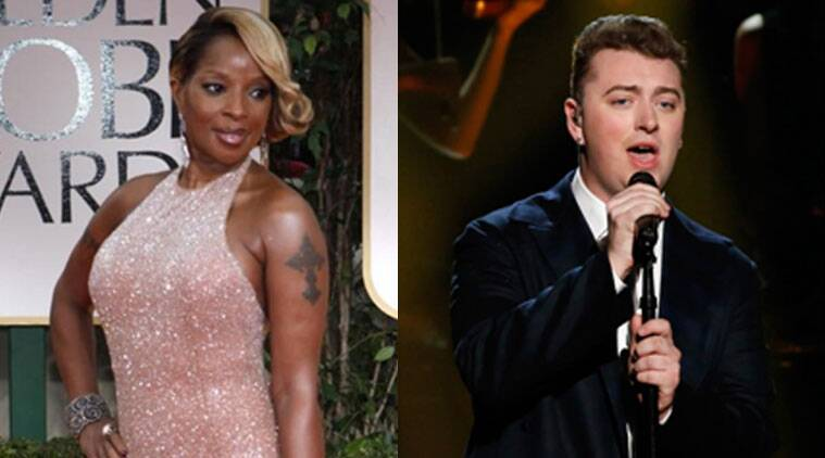 Mary J Blige says she is a huge fan of Sam Smith. (Source: Reuters)