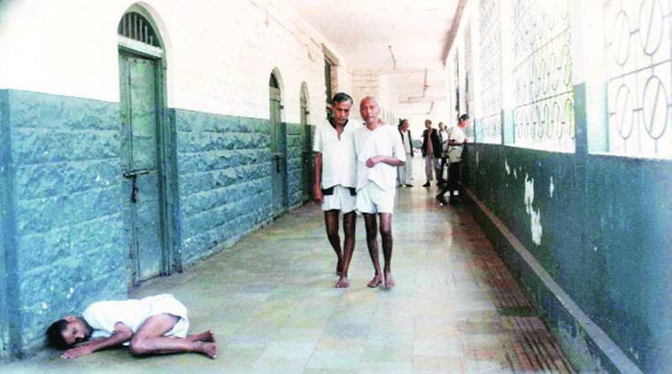 At the Thane mental hospital, the number of permanent patients requiring long term treatment are 140. (Source: Express archive)