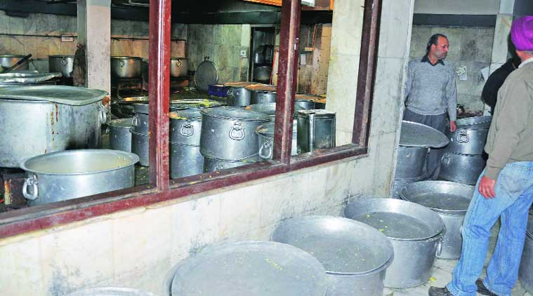In Kitchen For 19 000 Students Broken Untensils