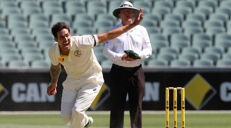 The resurgence of Mitchell Johnson began here in Brisbane against England last year. Back then, he took nine wickets at the Gabba. (Source: AP)