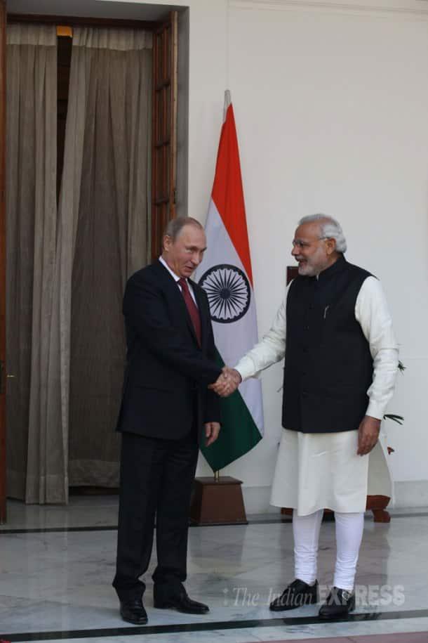 Narendra Modi, Vladimir Putin hold summit talks