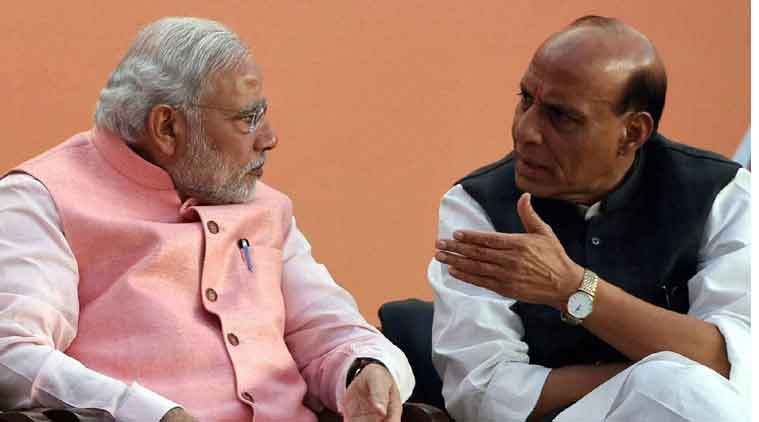 modi, narendra modi, rajnath singh, narendra modi rajnath singh, nda governors, nda, governor names, india news, indian express