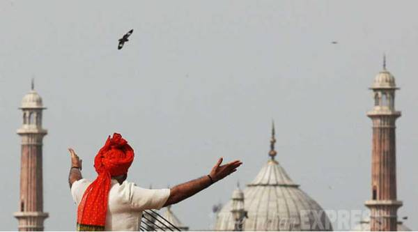 Speaking at the Red Fort, Prime Minister Narendra Modi reached out to the India he had just won.