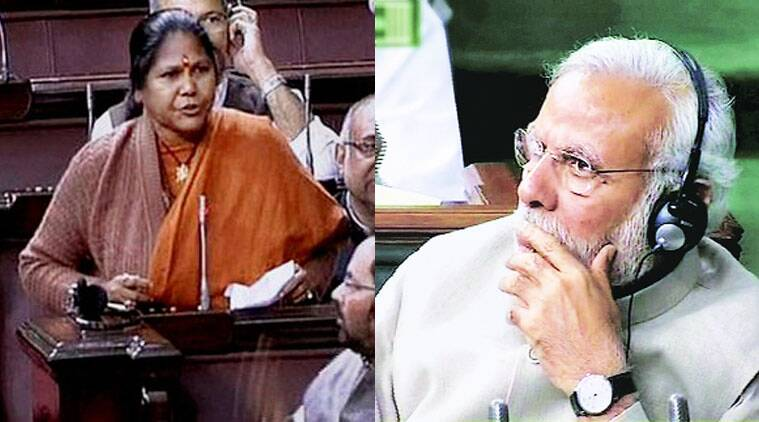 Jyoti was present in the House. Modi stayed put for the whole Question Hour even after the Opposition walked out.