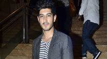 Mohit Marwah training to play a part for an upcoming film
