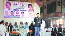Missing in Rajasthan, addressing rally inDelhi
