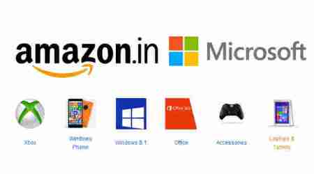 Microsoft brand store arrives on Amazon.in