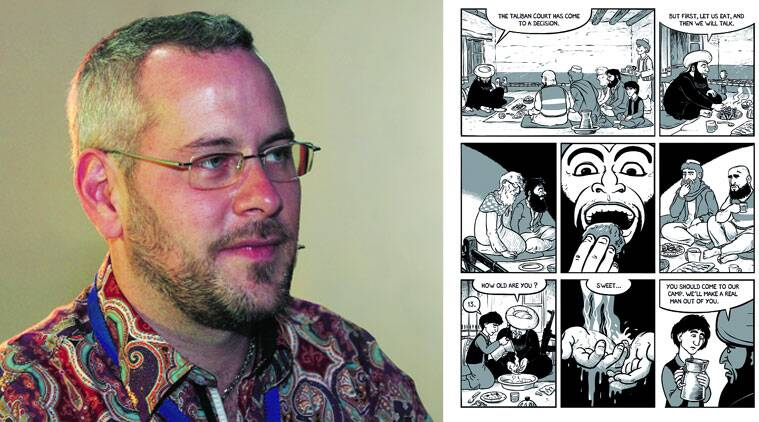 Nicholas Wild's autobiographical graphic novels on  Kabul show humour in dark corners.