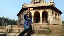 Nargis Fakhri likes to capture India's historic locations
