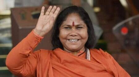 'Kashmir issue should have been resolved like Hyderabad', says Union Minister Sadhvi Niranjan Jyoti