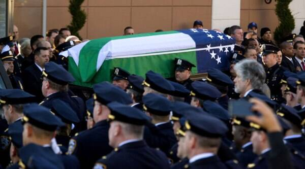 NYPD officer killing, NYPD officer death, Ramos funeral, Rafael Ramos, New York Police Department, Ismaaiyl Brinsley