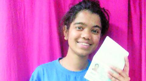 "Kavita is the only Indian  selected for the ""Semester at Sea""."