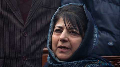 JK Govener had on Friday sent separate letters to PDP and BJP, inviting their repestive leaders -- Mehbooba Mufti (PDP President) and Jugal Kishore Sharma (state President of BJP) for discussions over government formation. (AP Photo)