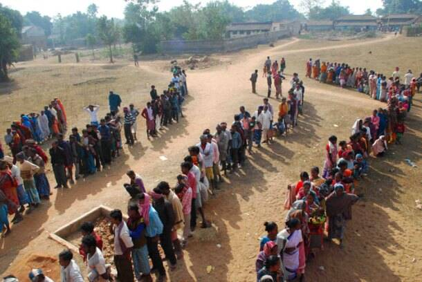 Photos jharkhand sees impressive polling in final phase for Bano jharkhand