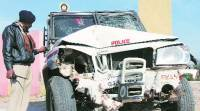 1 killed, 2 cops injured in freak mishap