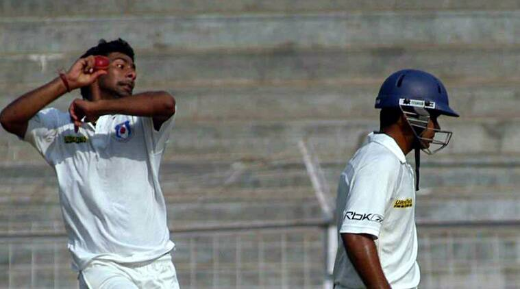 Praveen Kumar was impressive and picked three wickets in the process. (Source: Express File)